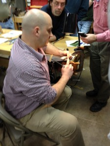 Matt Cianci CVSW saw sharpening class
