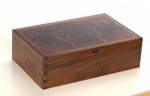Bob Van Dyke walnut box