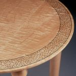 Coleman Carved Table 640