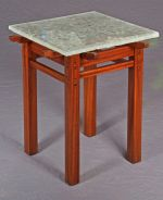 Darrell Peart Rafter Tail table glass top 640